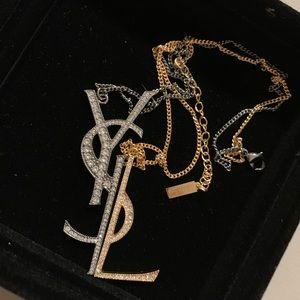 YSL Necklace With No Authorization